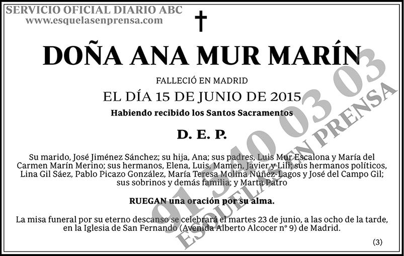 Ana Mur Marín
